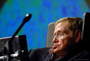 Image: Stephen Hawking in 2008