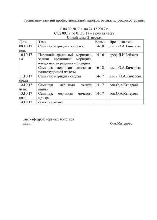 расписание РТ ППС 2017-2