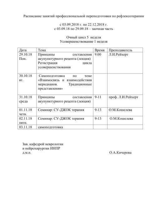 расписание РТ ППС 2018-5
