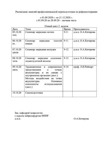 расписание РТ ППС 2020-2