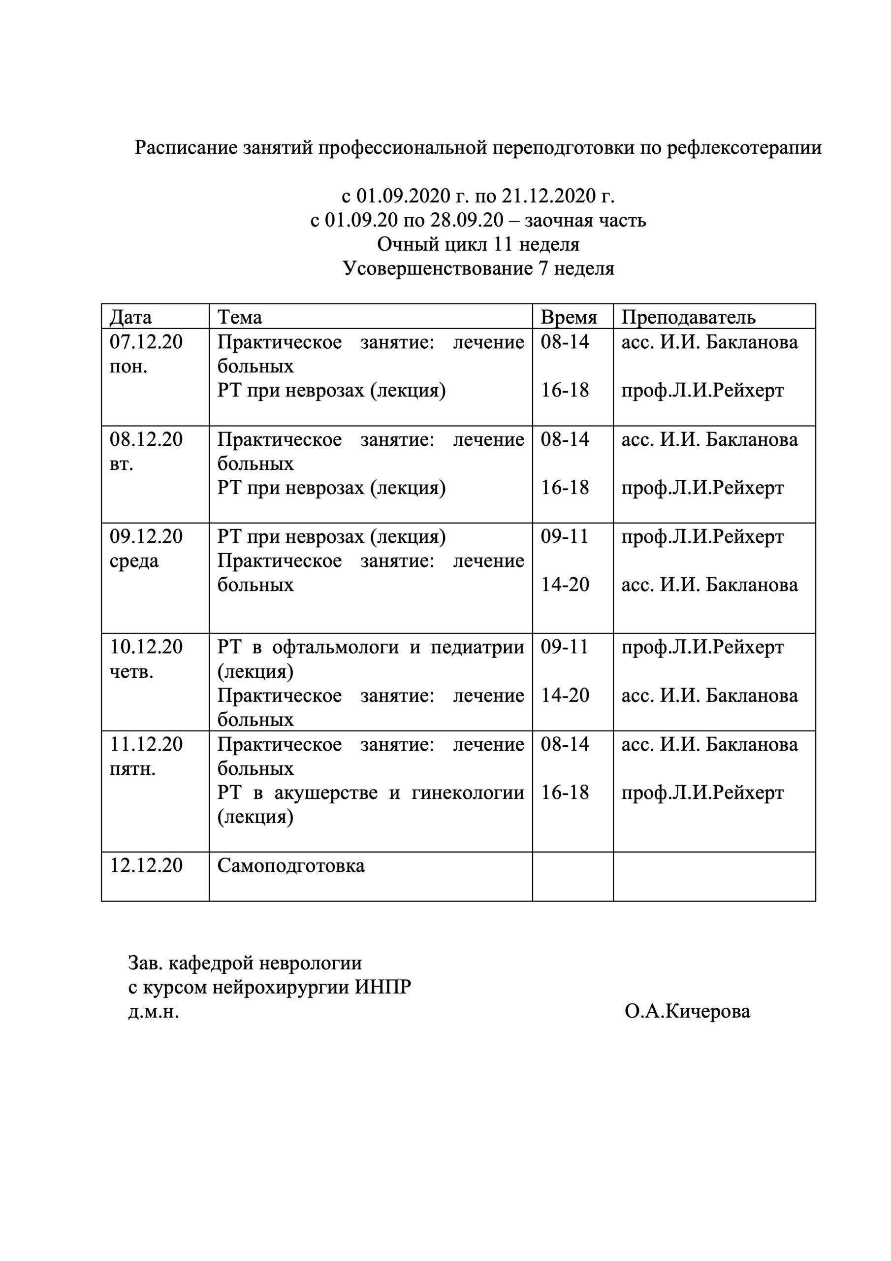 расписание РТ ППС 2020-11