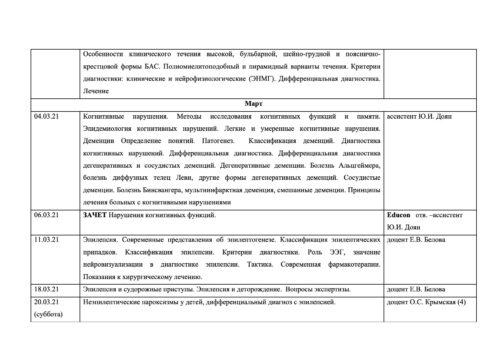 Расписание семинаров на 2020-2021г-11