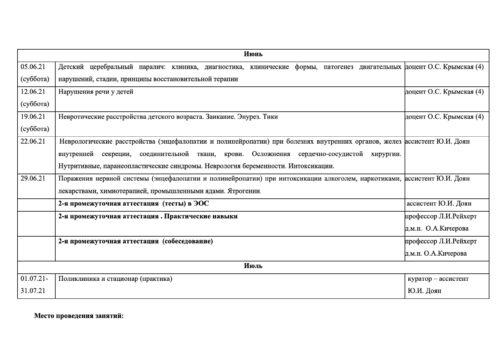 Расписание семинаров на 2020-2021г — 7