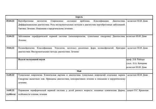 Расписание семинаров на 2021-2022 г-7