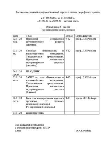 расписание РТ ППС 2020-6
