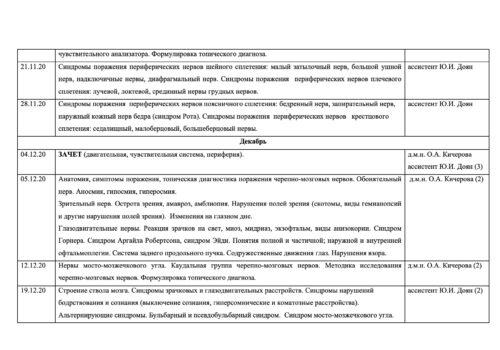 Расписание семинаров на 2020-2021г — 2