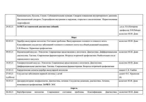 Расписание семинаров на 2020-2021г — 5
