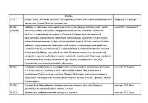 Расписание семинаров на 2020-2021г-9